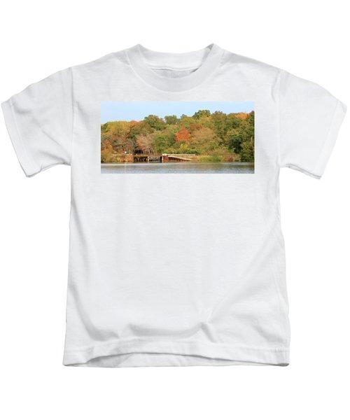 Murphy Mill Dam/bridge Kids T-Shirt