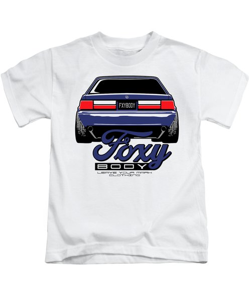 Mustang Ford Stang Kids T-Shirt
