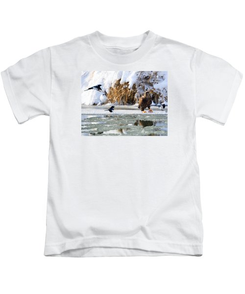 My Lunch Kids T-Shirt by Mike Dawson