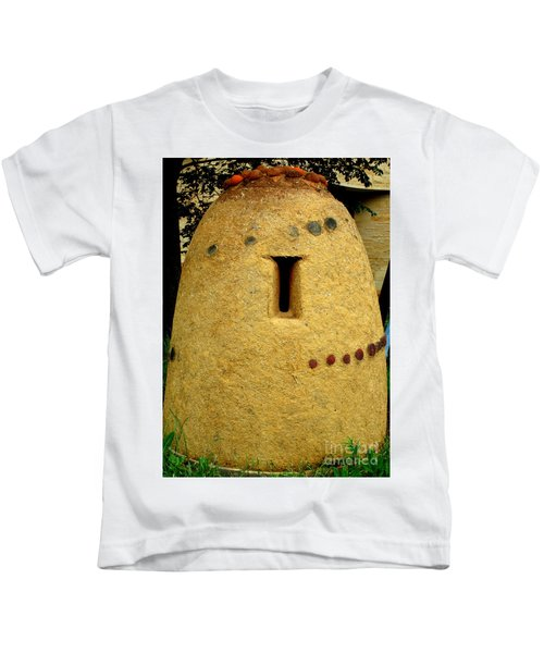 National Museum Of The American Indian 4 Kids T-Shirt by Randall Weidner