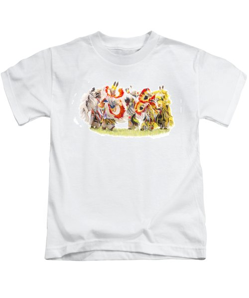 Native Color In Motion Kids T-Shirt