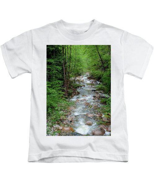 Naturally Pure Stream Backroad Discovery Kids T-Shirt