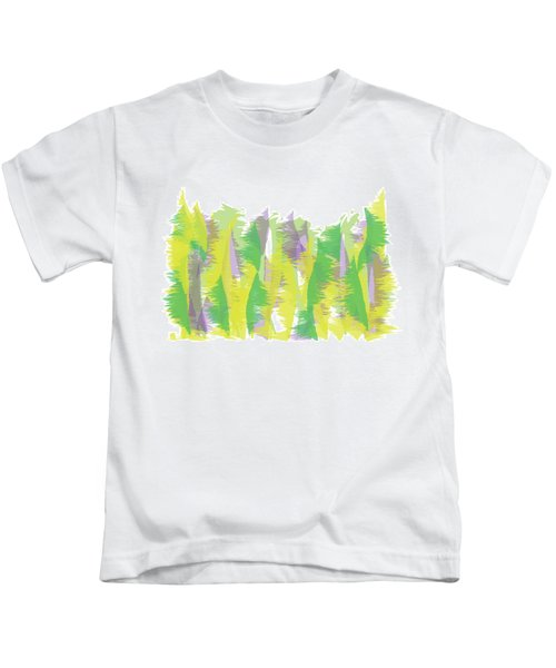 Nature - Abstract Kids T-Shirt