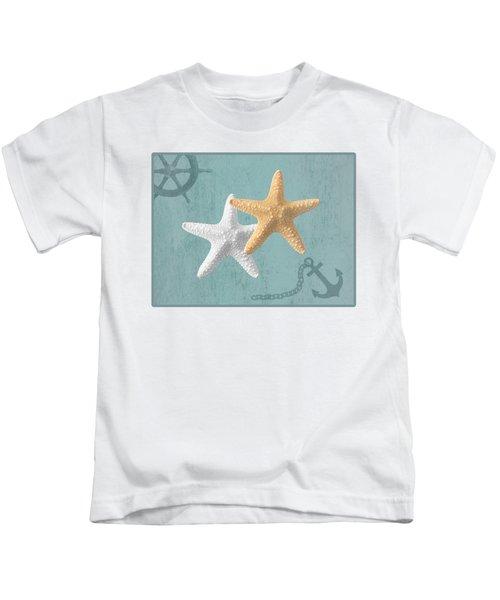Nautical Stars Kids T-Shirt