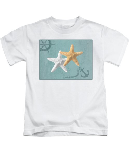 Nautical Stars Kids T-Shirt