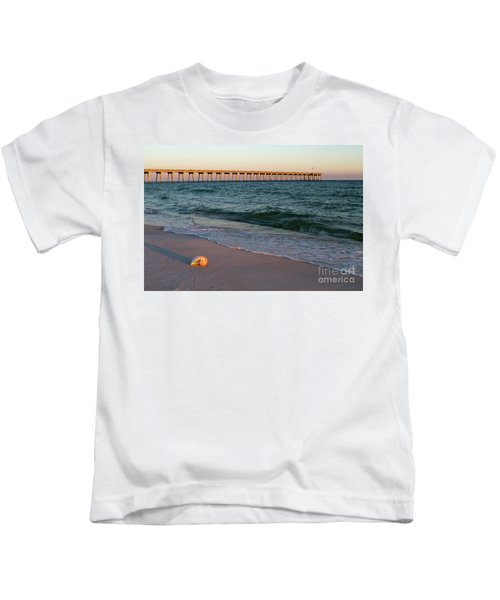Nautilus And Pier Kids T-Shirt