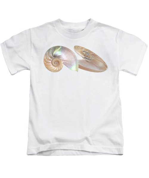 Nautilus Natural Jewel Of The Sea Kids T-Shirt