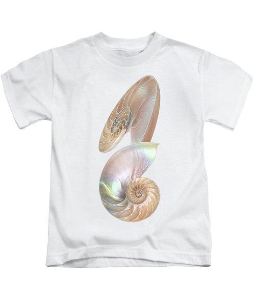 Nautilus Natural Jewel Of The Sea - Vertical Kids T-Shirt