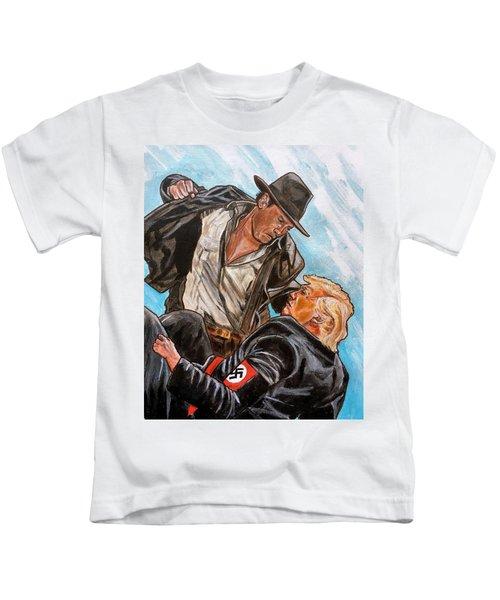 Nazis. I Hate Those Guys. Kids T-Shirt