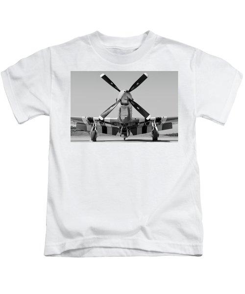 Never Keep A Mustang Waiting Kids T-Shirt