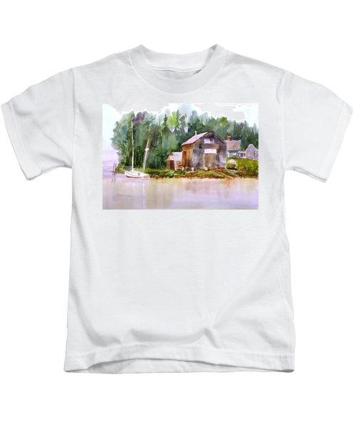 New England Boat Repair Kids T-Shirt