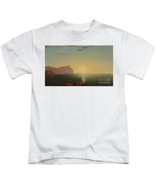 New England Sunrise Kids T-Shirt