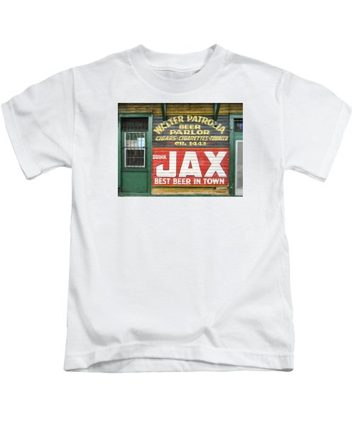 New Orleans Beer Parlor Kids T-Shirt