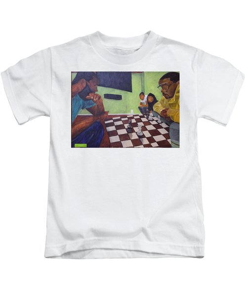 A Game Of Chess Kids T-Shirt