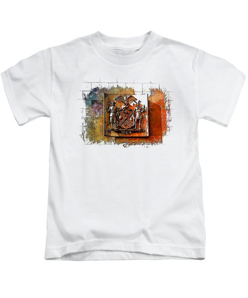 New York 1664 Earthy Rainbow 3 Dimensional Kids T-Shirt