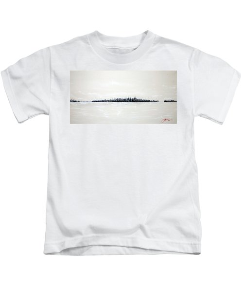 New York City Skyline 48 Kids T-Shirt