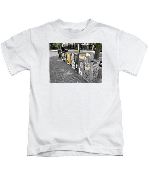 Newspaper Boxes Kids T-Shirt