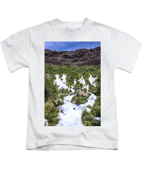 Niagra Springs Idaho Journey Landscape Photography By Kaylyn Franks  Kids T-Shirt
