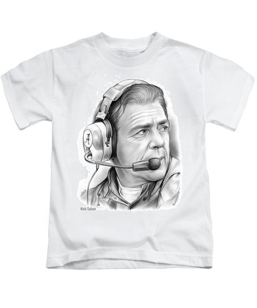 Nick Saban Kids T-Shirt