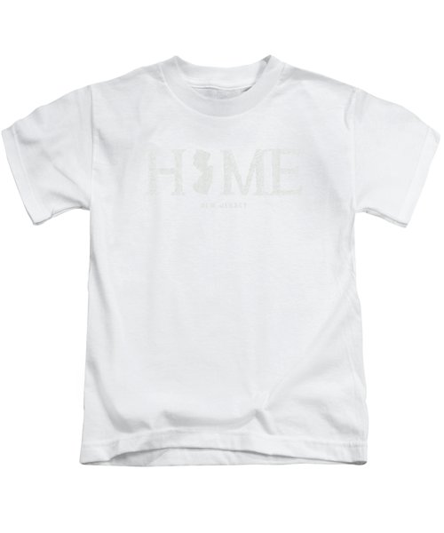 Nj Home Kids T-Shirt by Nancy Ingersoll