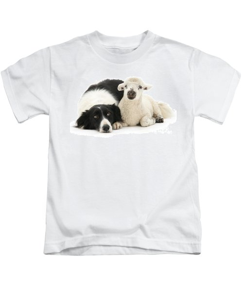 No Sheep Jokes, Please Kids T-Shirt