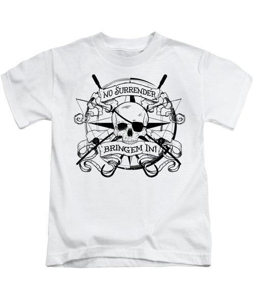 No Surrender - Blackout Kids T-Shirt