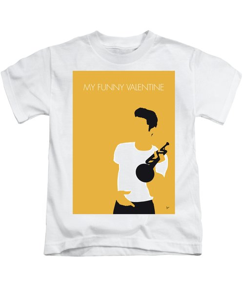 No084 My Chet Baker Minimal Music Poster Kids T-Shirt