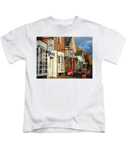 North Conway Village 2 Kids T-Shirt