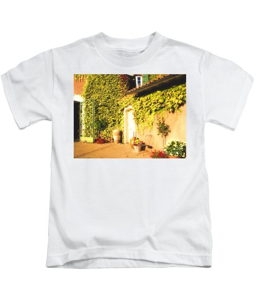 Northern California Winery Kids T-Shirt