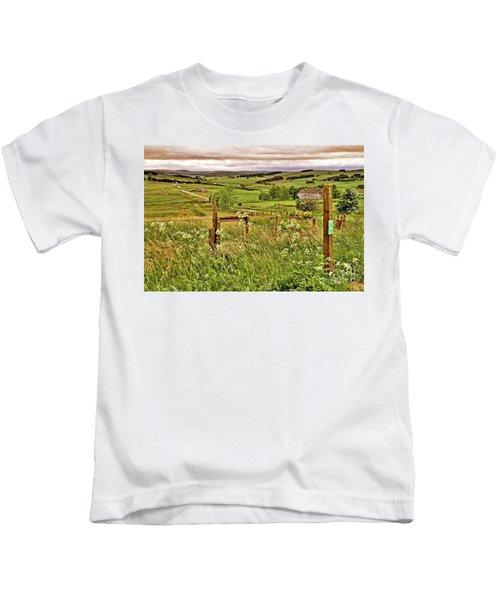 Northumberland Landscape Kids T-Shirt