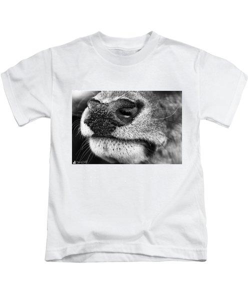 Nosy Nose  #monochrome #canon Kids T-Shirt