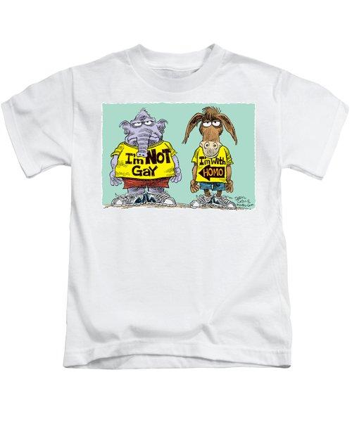 Not Gay Kids T-Shirt