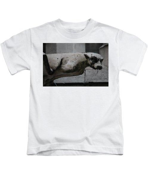 Notre Dame Bat Gargoyle Kids T-Shirt
