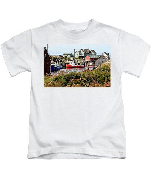 Nova Scotia Fishing Community Kids T-Shirt