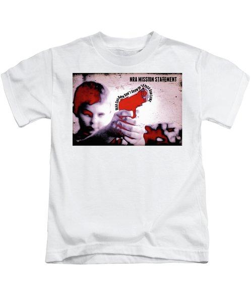 Nra Mission Statement Kids T-Shirt
