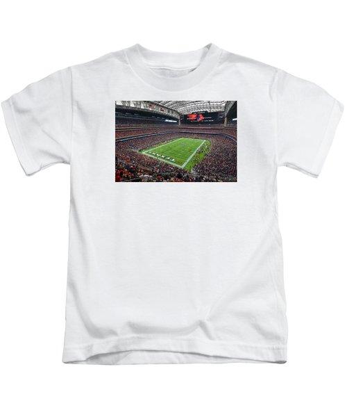 Nrg Stadium - Houston Texans  Kids T-Shirt
