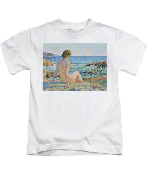 Nude On The Coast Monaco Kids T-Shirt