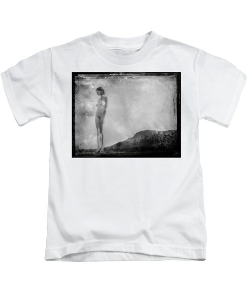Nude On The Fence, Galisteo Kids T-Shirt