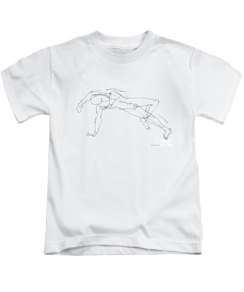 Nude_male_drawings_23 Kids T-Shirt