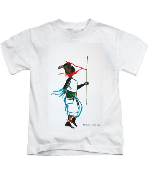 Nuer Dance - South Sudan Kids T-Shirt