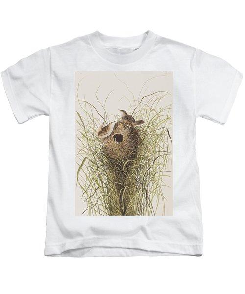 Nuttall's Lesser-marsh Wren  Kids T-Shirt
