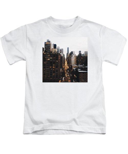 Nyc View Kids T-Shirt
