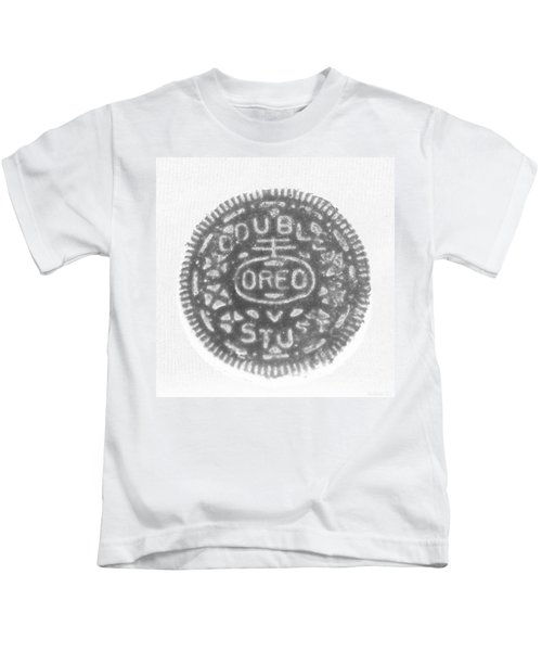 O R E O In Black Negative Kids T-Shirt