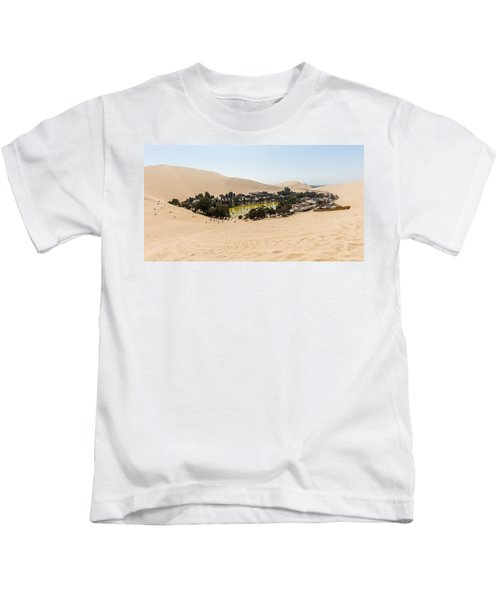 Oasis De Huacachina Kids T-Shirt