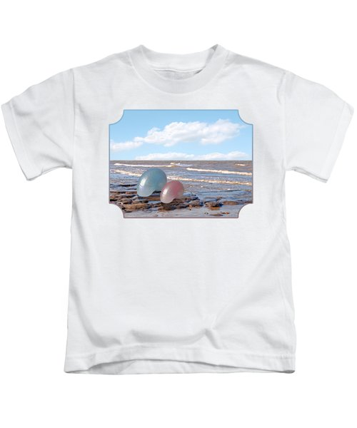 Ocean Love Affair - Nautilus Shells Kids T-Shirt