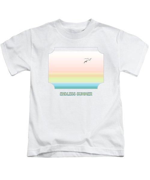 Endless Summer Kids T-Shirt by Gill Billington