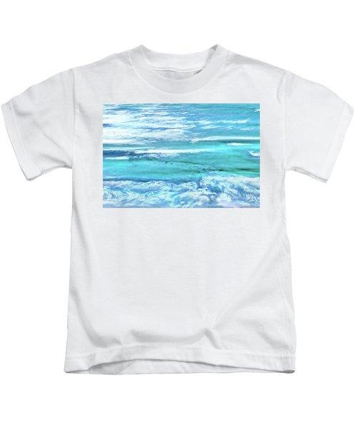 Oceans Of Teal Kids T-Shirt