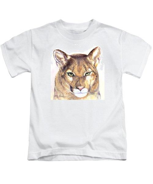 October Lion Kids T-Shirt