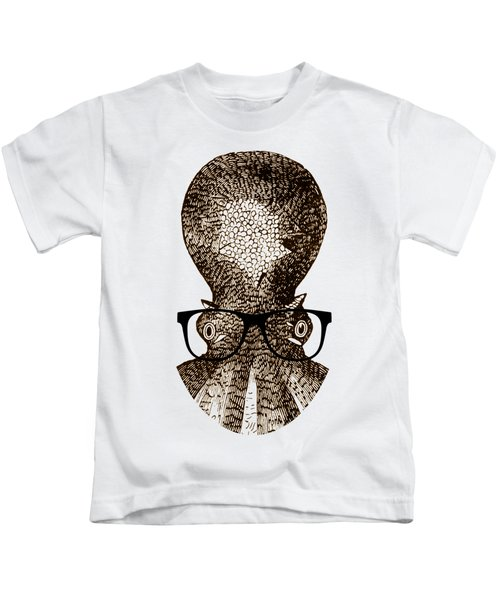 Octopus Head Kids T-Shirt