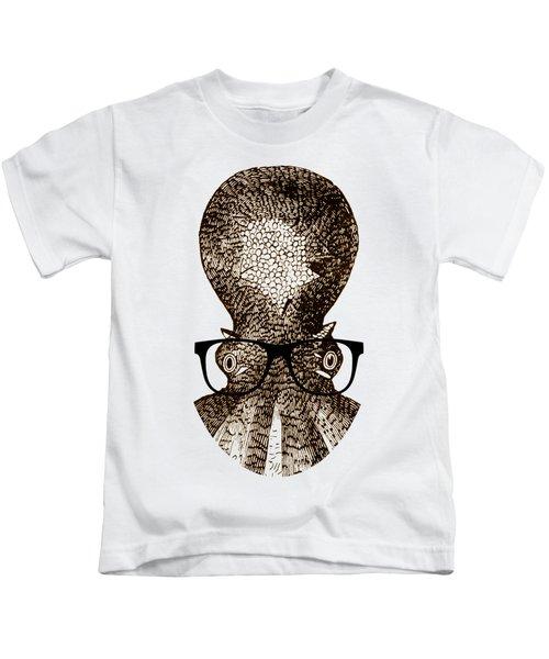Octopus Head Kids T-Shirt
